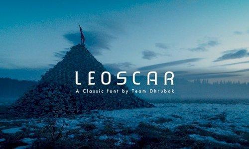 Typographie - Leoscar